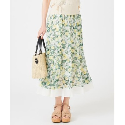 【Ray6月号掲載】Earthyボタニカルフラワー スカート