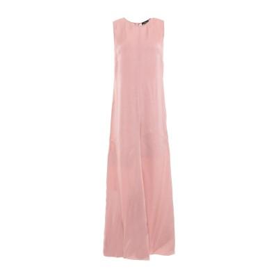 レ コパン LES COPAINS ロングワンピース&ドレス ローズピンク 40 キュプラ 100% ロングワンピース&ドレス
