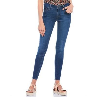リーバイス レディース デニムパンツ ボトムス 710 Mid Rise Skinny Jeans