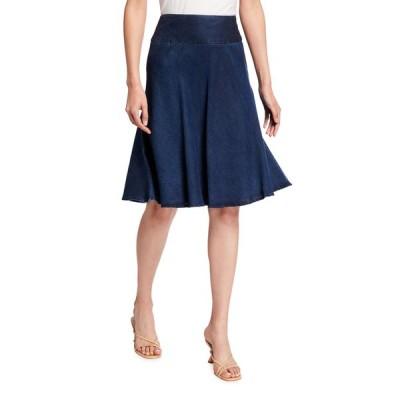 ニックプラスゾーイ レディース スカート ボトムス Summer Fling A-Line Denim Skirt