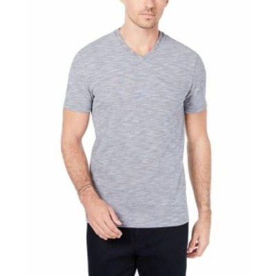 Ryan  ファッション トップス RYAN SEACREST NEW Gray Mens Size Large L Heathered V Neck Tee T-Shirt