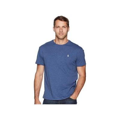 ポロ・ラルフローレン Classic Fit Crew T-Shirt メンズ シャツ トップス Derby Blue Heather
