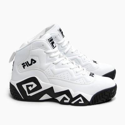 FILA MB FHE102 0005[フィラ マッシュバーン ホワイト](スニーカー/メンズ/レディース/バスケットボールシューズ/NBA/シグネチャーモデル/白/厚底/靴)