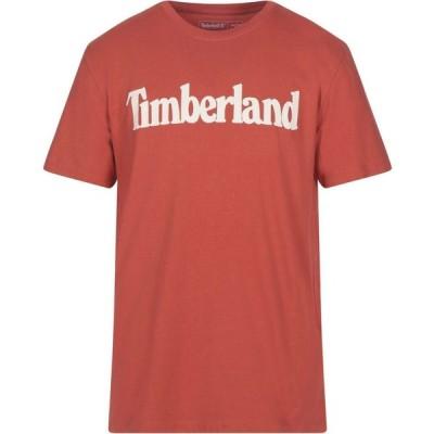 ティンバーランド TIMBERLAND メンズ Tシャツ トップス t-shirt Orange