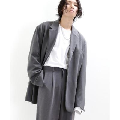 minsobi / ビッグシルエットテーラードジャケット MEN ジャケット/アウター > テーラードジャケット