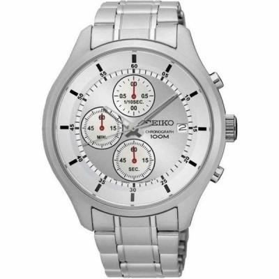 SEIKO[セイコー] SKS535P1 MENS WATCH シルバー ステンレス クロノグラフ アナログ メンズ腕時計 逆輸入 sks535p1