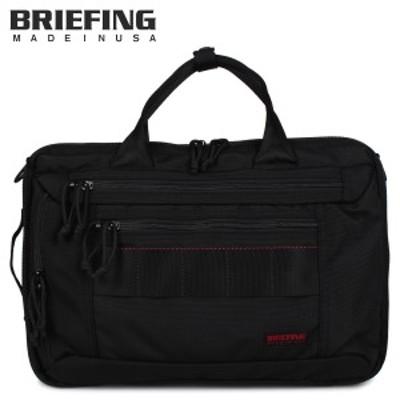 ブリーフィング BRIEFING バッグ ブリーフケース リュック ビジネスバッグ メンズ 3WAY 9L CLOUD ブラック 黒 BRA193Y03