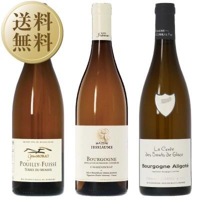 フレッシュ&フルーティーな辛口ワイン ドメーヌ ブルゴーニュ 白ワイン 3本セット 第8弾 750ml×3 送料無料 包装不可 飲み比べ ワインセット wine wain