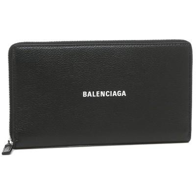 【返品OK】バレンシアガ 長財布 ユニセックス キャッシュ  BALENCIAGA 594317 1IZI3 1090 ブラック