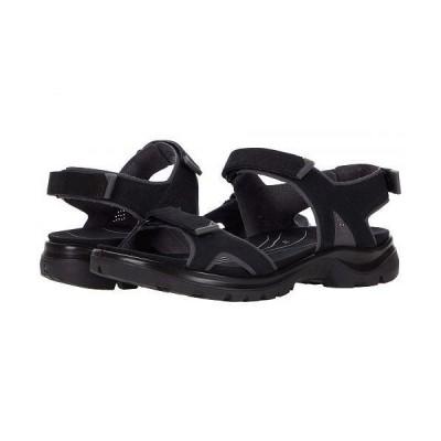 ECCO Sport エコー スポーツ レディース 女性用 シューズ 靴 サンダル Yucatan 2.0 Sandal - Black Yak Nubuck