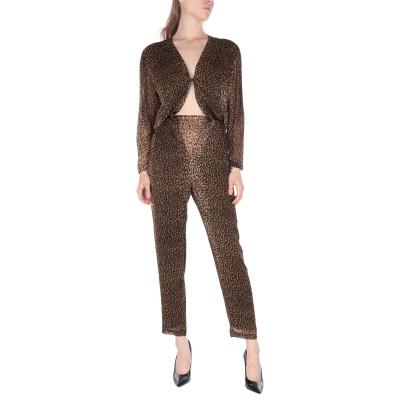 8PM パンツジャンプスーツ カーキ XXS レーヨン 100% パンツジャンプスーツ