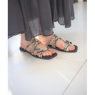 SMIR NASLI / Flat Sandals/フラットサンダル WOMEN シューズ > サンダル