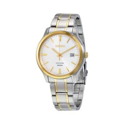 腕時計 セイコー Seiko シルバー ダイヤル ツートン メンズ 腕時計 SGEH42