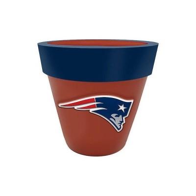 フットボール NFL アメリカ USA 全米 メジャー ザメモリーカンパニー New England Patriots Team Planter Flower Pot