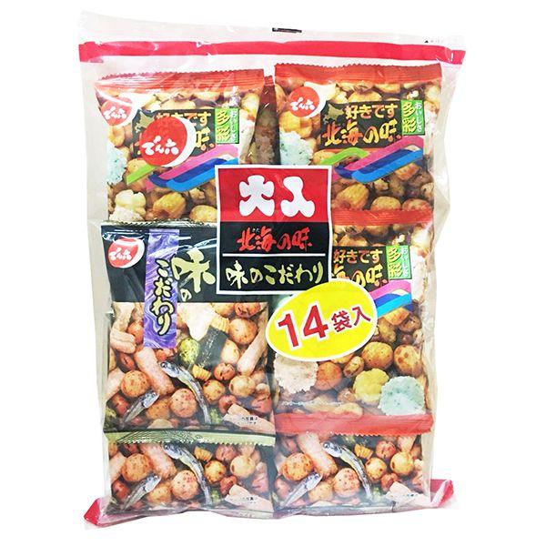 天六 二色綜合14袋入大包裝(豆菓子)341.6g