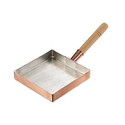 料理道具 厨房用品 / 銅玉子焼 関東型 15cm 寸法: 150 x 150 x深さ 30mm