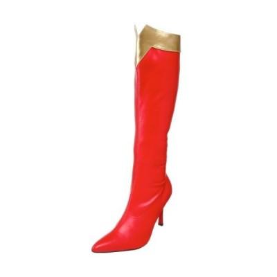 Wonder Knee High Adult Boots ニーハイブーツ大人用ワンダー♪ハロウィン♪サイズ:8