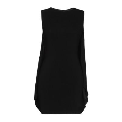 ディースクエアード DSQUARED2 ミニワンピース&ドレス ブラック S レーヨン 91% / ナイロン 8% / ポリウレタン 1% ミニワン