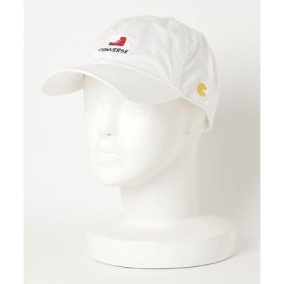 帽子 キャップ 【CONVERSE/コンバース】パックマンロゴキャップ CONVERSE × PAC-MAN 40周年記念コラボアイテム