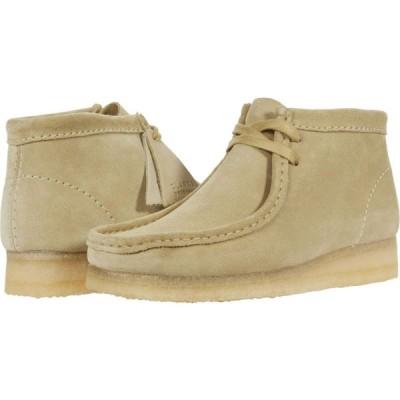 クラークス Clarks レディース ブーツ シューズ・靴 Wallabee Boot Maple Suede 1
