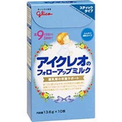【アイクレオ フォローアップミルク スティックタイプ 13.6g×10本入】