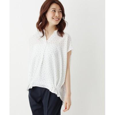 OPAQUE.CLIP / 【洗える・42(LL)WEB限定サイズ】サイドタックスキッパーシャツ WOMEN トップス > シャツ/ブラウス