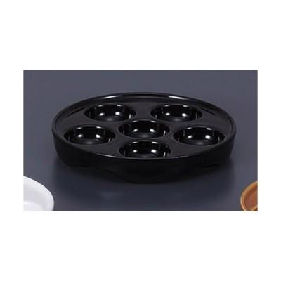 洋陶単品 黒エスカルゴ E.O [16 x 2.7cm]  料亭 旅館 和食器 飲食店 業務用