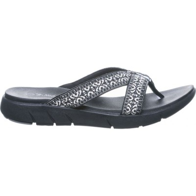 ベアパウ BEARPAW レディース サンダル・ミュール シューズ・靴 Juniper Sandals Black