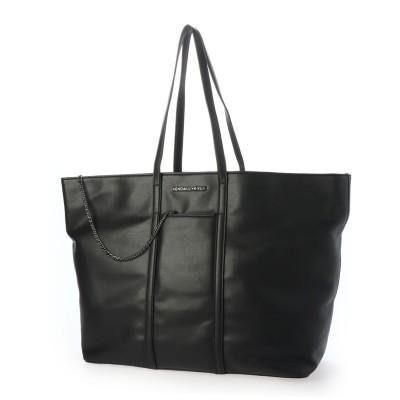 ケンダルアンドカイリー KENDALL+KYLIE パスケース付きトートバッグ ブリエンヌ BRIENNE (BLACK)
