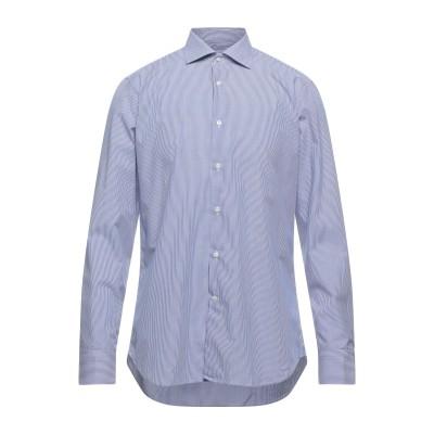 CALIBAN 820 シャツ ダークブルー 41 コットン 100% シャツ