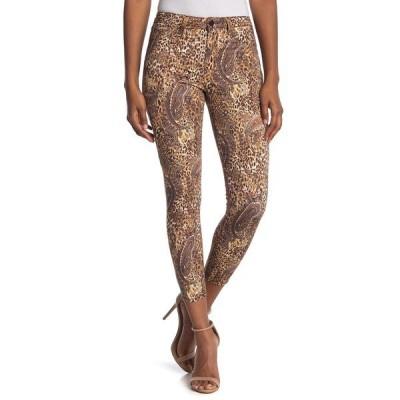 ラジャンス レディース デニムパンツ ボトムス Margot Leopard Paisley Skinny Jeans BRONZE VAL