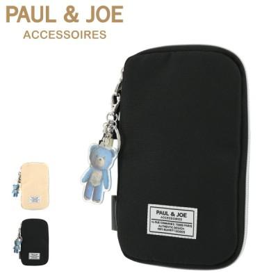 ポールアンドジョーアクセソワ ポーチ レディース ワッペン PJA-P284 PAUL&JOE ACCESSOIRES | ガジェットケース