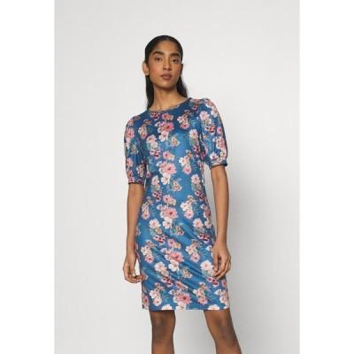 ヴィラ ワンピース レディース トップス VIMOLNA DRESS - Jersey dress - mazarine blue