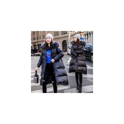 ダウンコート レディース ダウンジャケット ロングコート 冬アウター フード付き コート 厚手 ゆったり 防寒 暖かい あったか おしゃれ 冬物 新作 送料無料
