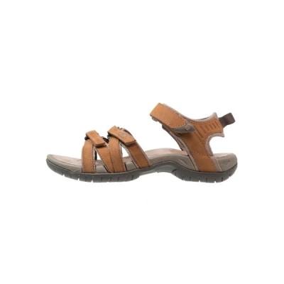 テバ サンダル レディース シューズ TIRRA - Walking sandals - rust