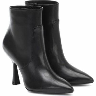 スチュアート ワイツマン Stuart Weitzman レディース ブーツ ショートブーツ シューズ・靴 melena leather ankle boots Black