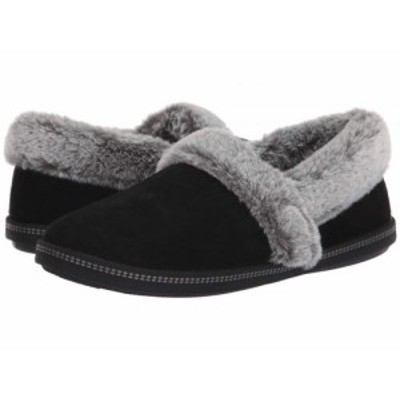 SKECHERS スケッチャーズ レディース 女性用 シューズ 靴 スリッパ Cozy Campfire Team Toasty Black【送料無料】