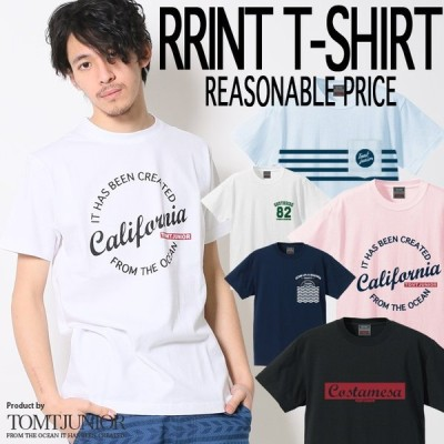 【TOMTJUNIOR】 リーズナブル プライス プリントTシャツ