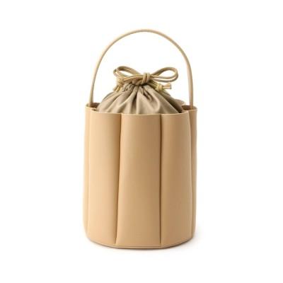 【クチュール ブローチ/Couture brooch】 【美人百花6月号掲載】プリーツミニバケツバッグ