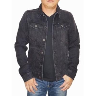 ジースターロウ G-STAR-RAW デニムジャケット 黒 3301 D06755 メンズ ブラック Gジャン ジージャン 春物 秋物