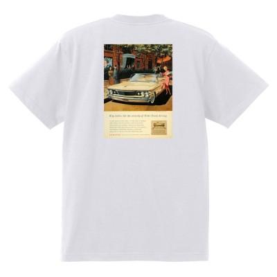 アドバタイジング ポンティアック 430 白 Tシャツ 黒地へ変更可能 1960 グランプリ テンペスト ルマン ボンネビル カタリナ ホットロッドローライダー