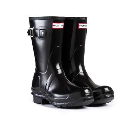 ハンター レディース ブーツ・レインブーツ シューズ Hunter Women's Original Short Gloss Boot