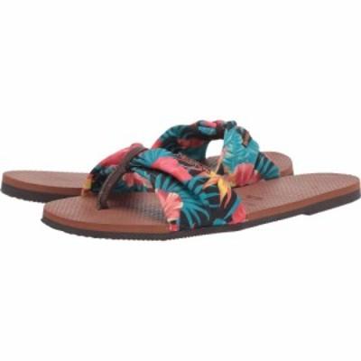 ハワイアナス Havaianas レディース ビーチサンダル シューズ・靴 You Saint Tropez Sandals Rust