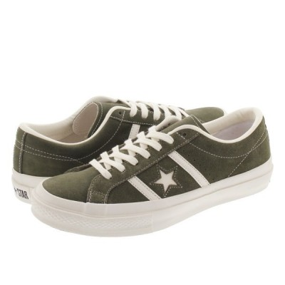 CONVERSE STAR&BARS SUEDE OX コンバース スター&バーズ スエード OX OLIVE 35200180 1CL757