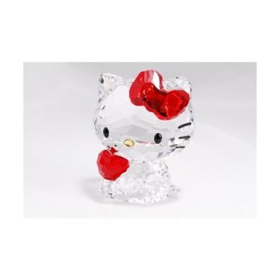 スワロフスキー SWAROVSKI クリスタル フィギュア Hello Kitty Red Apple (ハローキティ 赤リンゴ) Hello Kit