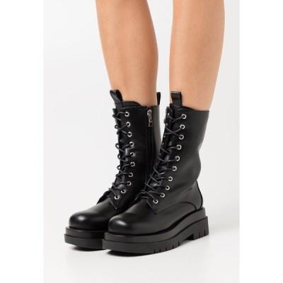 レイド ブーツ&レインブーツ レディース シューズ DAHLIA - Platform ankle boots - black