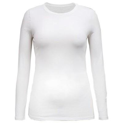 スタイルアンドコー カットソー トップス レディース Long-Sleeve Top, Created for Macy's Bright White