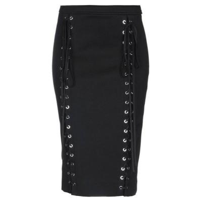 REDEMPTION ひざ丈スカート  レディースファッション  ボトムス  スカート  ロング、マキシ丈スカート ブラック