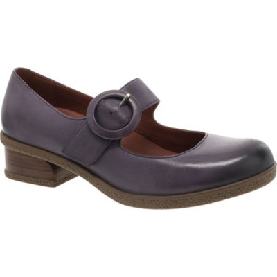 ダンスコ サンダル シューズ レディース Brandy Mary Jane (Women's) Plum Waterproof Burnished Leather
