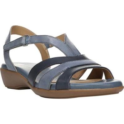 レディース 靴 サンダル Womens Neina Leather Open Toe Casual Wedged Sandals